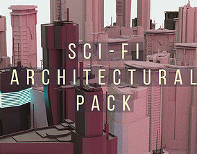 SCIFI Architectural Pack 3D