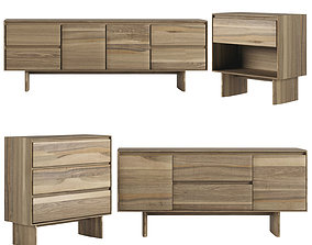 3D Anton Solid wood console collections