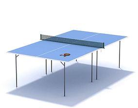 3D Table Tennis Blue