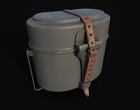 game-ready WW2 Wehrmacht Mess Kit 3d model - Essgeschirr