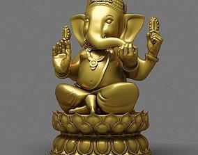 3D model Elephant God Statue