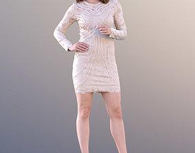 Juliette 10780 - Standing Elegant Woman 3D asset
