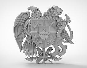 Eagle Emblem 3d stl models for artcam and aspire