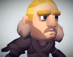 Nordic Warrior Raydal - Proto Series 3D asset
