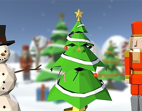 3D model Low Poly Winter Pack