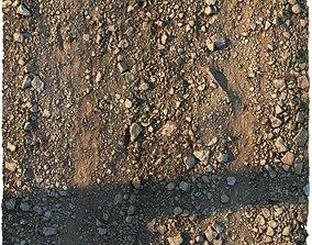 3D asset Rocky narrow road material