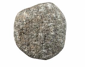 3D asset Brown rock 5 PBR