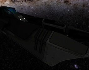 3D asset WIPE OUT - QIREX F SPACE FIGHTER