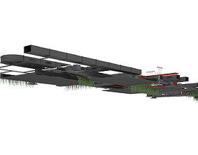 3D model Ventilation system set