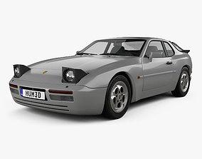 Porsche 944 Turbo 1985 3D model