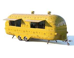 Food Truck 3D model kebab
