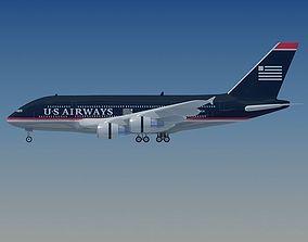 US Airways Model Airbus A380