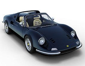 Ferrari 246 GTS Dino 3D model