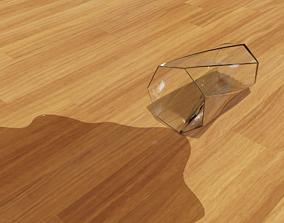 Heptagon Twist Glass Spill spiral 3D model