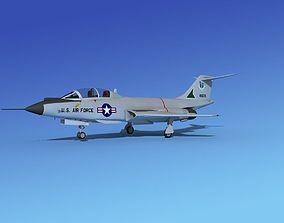McDonnell F-101B Voodoo V05 3D model