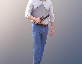 Rick 10783 - Walking Business Man 3D model