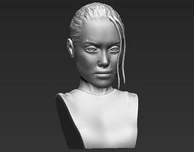 Lara Croft Angelina Jolie bust 3D printing ready stl obj