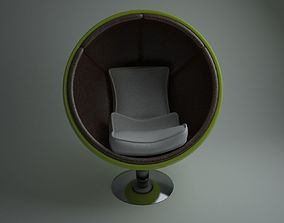 egg chair thor 3D