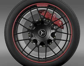 Mercedes AMG C 63 S Edition wheel 3D
