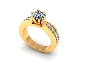 3D print model Wedding Ring R008