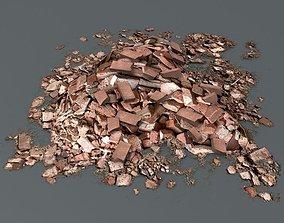 3D asset Brick Debris Pile