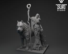 Hella and Garm 3D print model