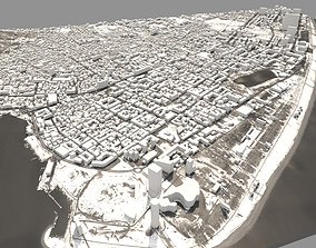 3D street Batumi city Georgia