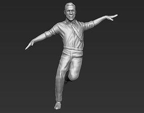 Ryan Gosling 3D printable stl obj formats