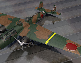 3D model Mitsubishi G3M2 Nell