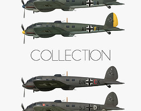3D model Heinkel He 111 - Battle of Britain