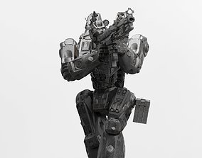 Peacemaker Mech Miniature 3D print model