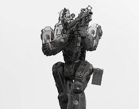 Peacemaker Mech Miniature 3D print model