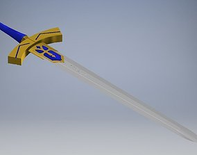 melee 3D model Excalibur - FateStay Night