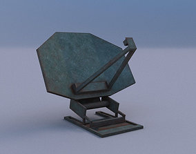 Radar 04 3D asset