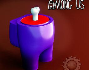 AMONG US DEAD 3D printable model
