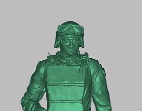3D printable model sculpture Soldier