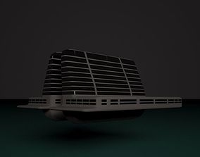 3D Floating Hotel