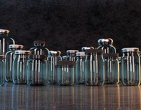 3D model Economy Jars