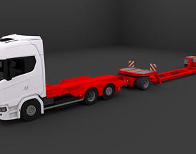 3D model Henro agromachine trasporter