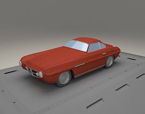 3D model Fiat V8 Supersonic from 1953