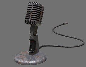 3D model Retro Microphone 2B