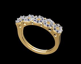 3D print model Gold Ring 163