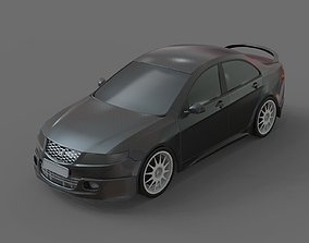 sport car widebody accord 3D model