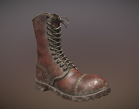 Army Boot 3D asset