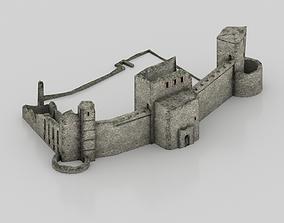 Old ruined castle 3D model