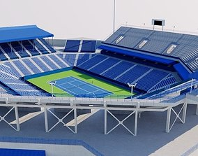 William H G FitzGerald Tennis Center 3D model
