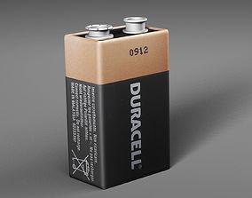 3D model Battery Duracell
