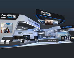 3D various-models Exhibition Stands