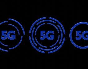 5g connection 1 3D