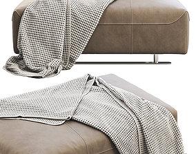 BoConcept Hampton footstool 3D
